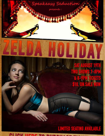 Zelda Holiday Burlesque