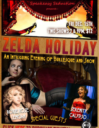 Zelda Holiday Burlesque Show